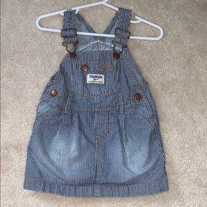 12m overall dress